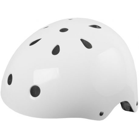 Cykelhjelm Ventura skaterhjelm, blank hvid