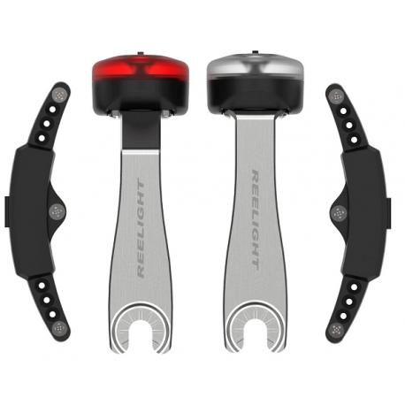 Cykelhjelm Reelight CPH+ lygtesæt m. RF arme