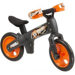 Sort/orange B-Bip løbecykel, 2-5 år