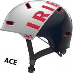 Abus Scraper ACE 3.0 cykelhjelm, Iriedaily white