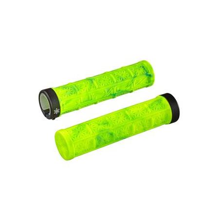 Køb Supacaz Grizips cykelhåndtag, Neon gul/neon blå mønster