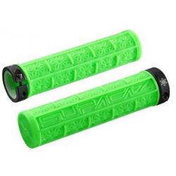 Supacaz Grizips cykelhåndtag, neon grøn