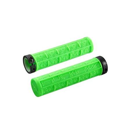 Køb Supacaz Grizips cykelhåndtag, neon grøn