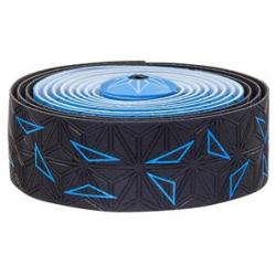 Fizik Sticky Kush Star Fade styrbånd, sort/neon blå