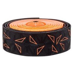 Fizik Sticky Kush Star Fade styrbånd, sort/neon orange