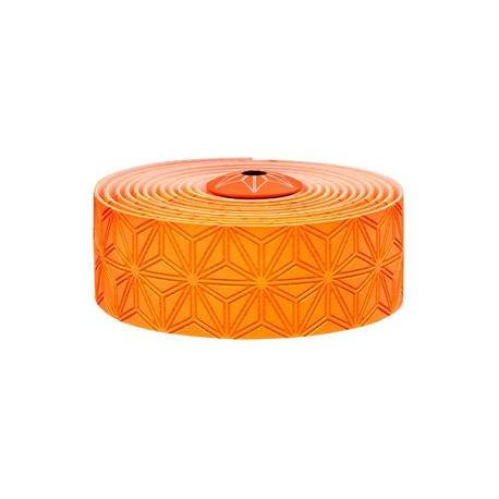 Fizik Super Sticky Kush styrbånd, neon orange | Bar tape