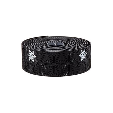 Fizik Super Sticky Kush galaxy styrbånd, sort/hvid | Bar tape