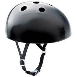 Sort Yakkay cykelhjelm + Tokyo Denim Cover + ørevarmere