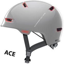 Image of   Abus Scraper ACE 3.0 cykelhjelm, Alaska Grey