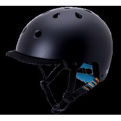 Image of   KALI SAHA mat sort cykelhjelm