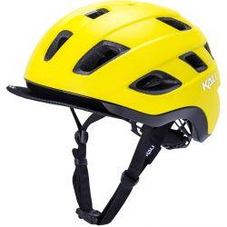 Image of   KALI Traffic cykelhjelm, mat gul