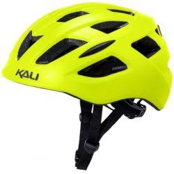 KALI Central cykelhjelm, mat gul