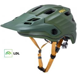 KALI Maya 2.0 cykelhjelm, mat grøn