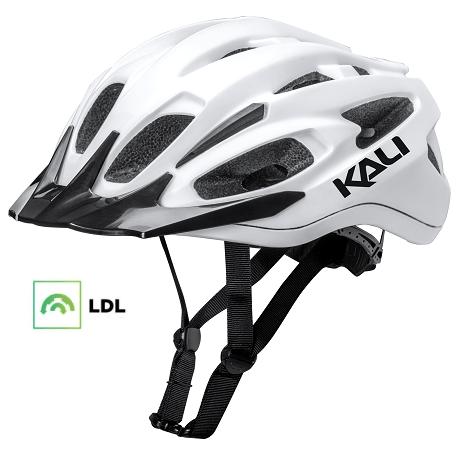 Cykelhjelm KALI Alchemy MTB hjelm, mat hvid/sort