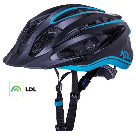 Cykelhjelm KALI Alchemy MTB hjelm, mat sort/blå