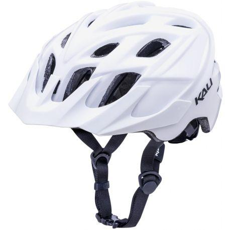 Cykelhjelm KALI Chakra Solo MTB hjelm, hvid
