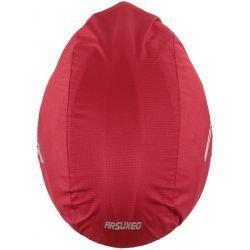 Rød vandtæt hjelmbetræk