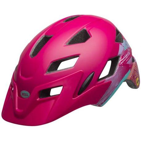 Cykelhjelm Bell Sidetrack Cykelhjelm Junior, Pink
