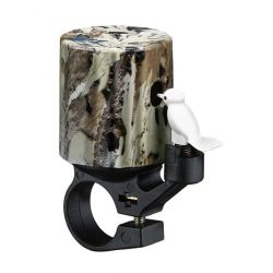 Klokke Bike Attitude Woodpecker camo 22,2mm messing top
