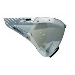 SPEEDmask Carbonic Visor clear-sil. fl. hjelm briller fra casco passer til SPEEDairo, SPEEDSTER, ROADSTER