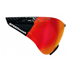 Visier SPEEDmask Carbonic red Multilayer hjelm briller fra casco passer til SPEEDairo, SPEEDSTER, ROADSTER