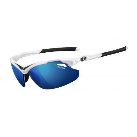 Cykelhjelm Tifosi Tyrant 2.0 hvid/sort Clarion blå/rød/klar cykelbriller