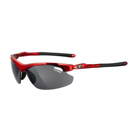 Køb Fra Tifosi Tyrant 2.0 farve Metallic rød Smoke/rød/klar cykelbriller