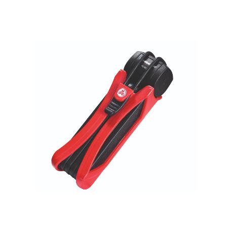 Køb Foldelås FS300 Trigo 85cm, Rød – forsikringsgodkendt