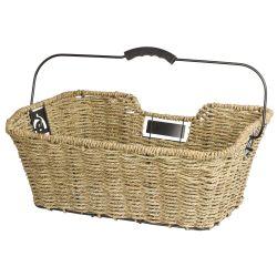 M Wave Unisex Ocean R Seagrass Basket, Cykelkurv Brun.