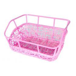 Kurv For Nest Pink med indfarvet Pink alu top m/beslag