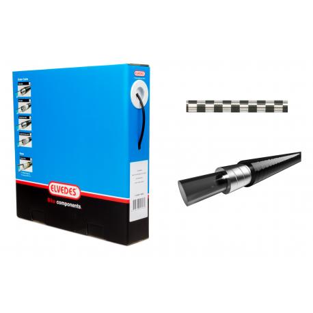 Bremsestrømpe Ø5,0mm 10m Chrome inkl. liner   bremser tilbehør