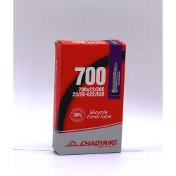 Chaoyang Slange 700x23/28C Presta 48mm