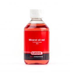 Mineral Olie Rød til alle Mineral Systemer 250ml