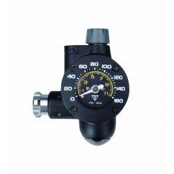 Pumpe AirBooster CO2 G2, 2-i-1 med dæktrykmåler