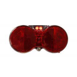 Baglygte Mixbike H-Vision 2-dioder m/batteri