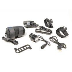 Mixbike GoMini 1000lm inkl. 2 batterier & oplader