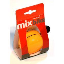 Klokke Ding Dong Orange, 6cm