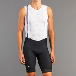 Giordana Bibshorts Silverline Herre Sort  Str. XXL