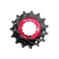 Sunrace 11 speed Låsering + 11-13-15T Sort