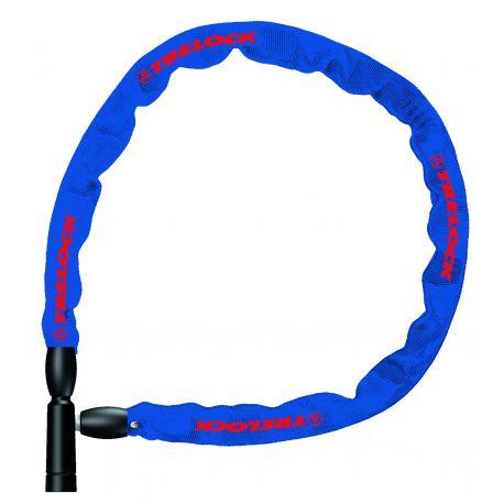Kædelås BC 115, 110cm/4mm, Blå, Lv1