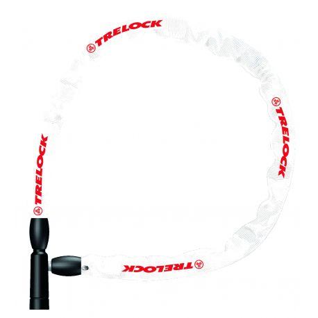 Kædelås BC 115, 60cm/4mm, Hvid, Lv1   cykellås