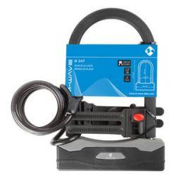 M-Wave bøjlelås med kabel - Godkendt