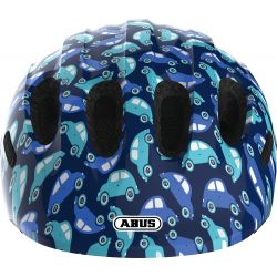 Abus Smiley 2.0 cykelhjelm, blue car