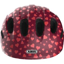 Abus Smiley 2.0 cykelhjelm, Cherry heart