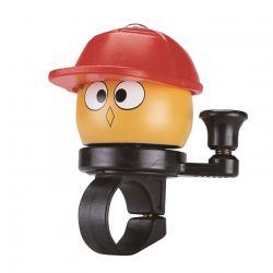 Ringeklokke Bike Attitude Noddy rød cap 22,2 mm